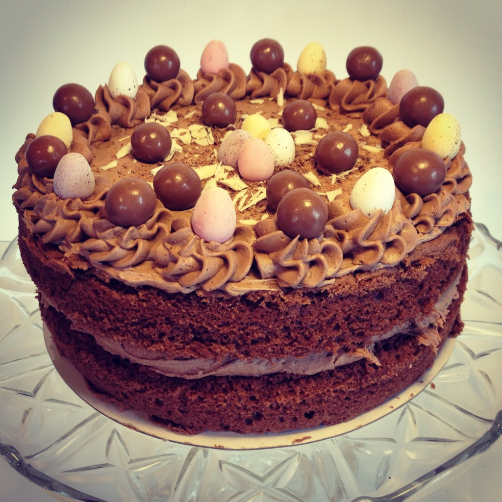 Chocolate Easter Cake Images : Mega Easter Chocolate Cake White Cherry Bakery